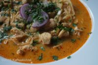 15 Minuten Kokos-Curry-Suppe