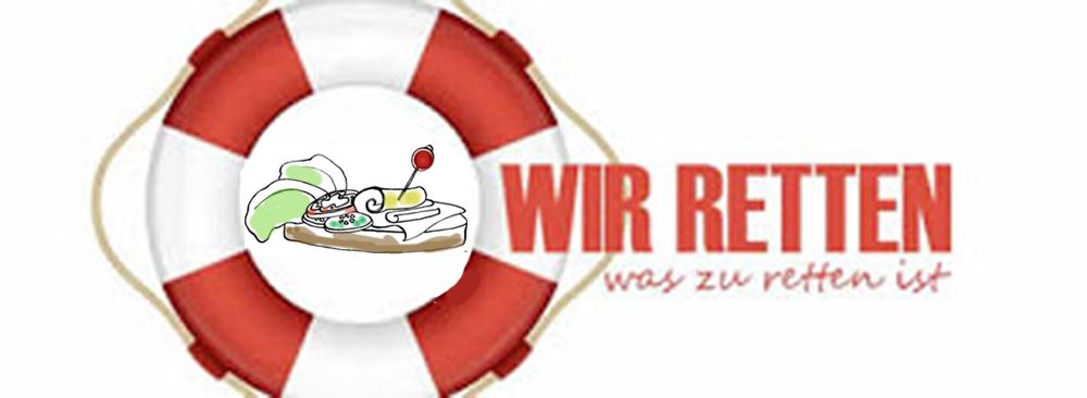 Wir retten was zu retten ist - Logo