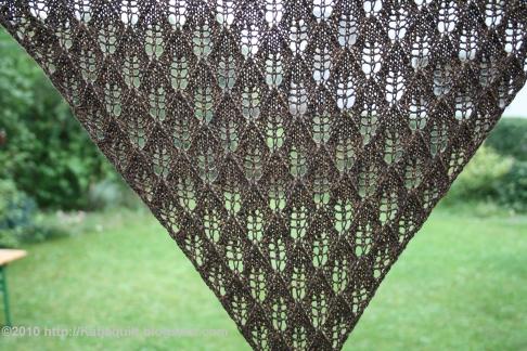 Katjas Quilts And Knits Birch Leaf Shawl
