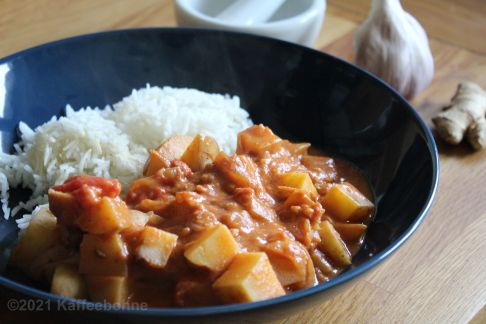 Kartoffel-Curry aus dem Punjab