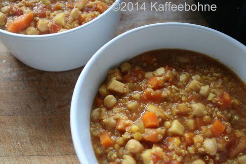 Kichererbsen-Quinoa-Eintopf